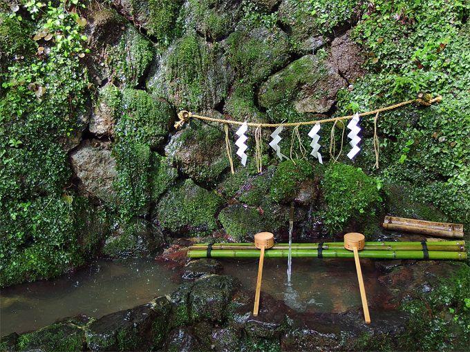 本宮で一番のおすすめは、霊水とも言われる御神水