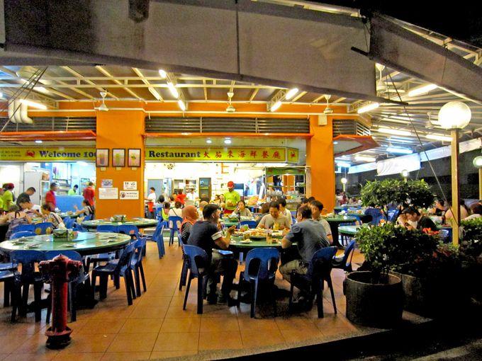 旅行者に便利なショッピングセンターがあるJalan Haji Saman