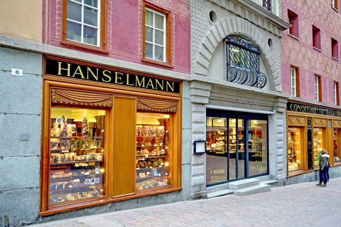 ランチ:オードリー・ヘップバーンも通ったハンゼルマンで食事を!