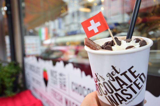 ここでしか味わえない買えないチョコレート