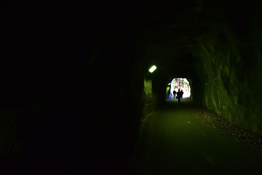 母なる大地の胎内洞「楯岩トンネル」