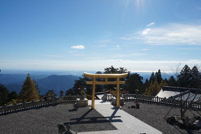 映える浜松「秋葉山本宮秋葉神社 上社」で天空とパワスポの開運めぐり
