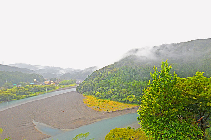 雨日も楽しめる散策コース