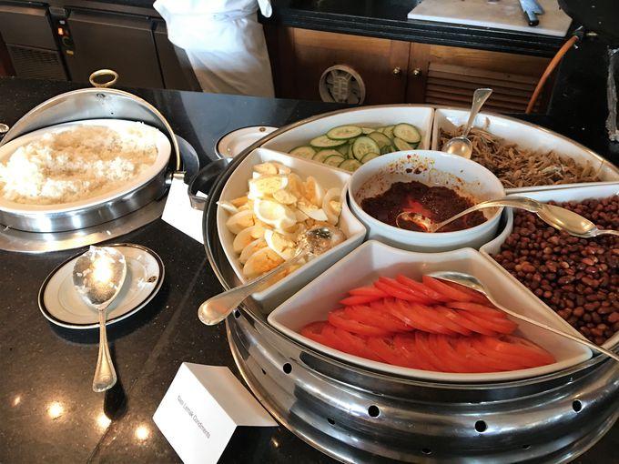 7つ星ホテルの朝食