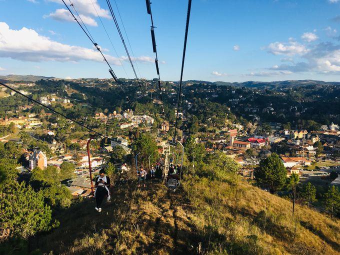 カンポス・ド・ジョルダンの街を一望できる展望台「象の丘」