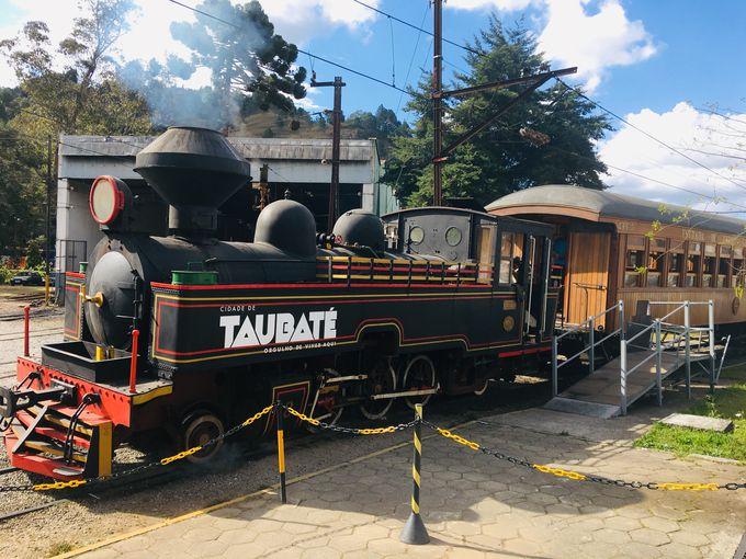 レトロな列車乗車体験