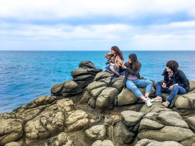 自然が作った神秘の海蝕洞「鯨魚洞」とその伝説