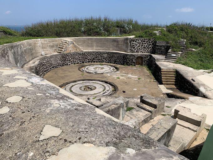 澎湖最大の火力を誇った砲台