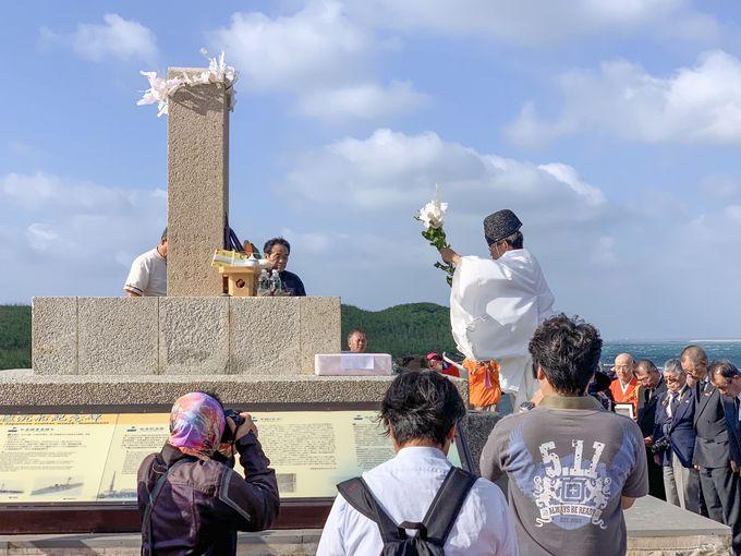 蛇頭山のオランダ城跡と松島