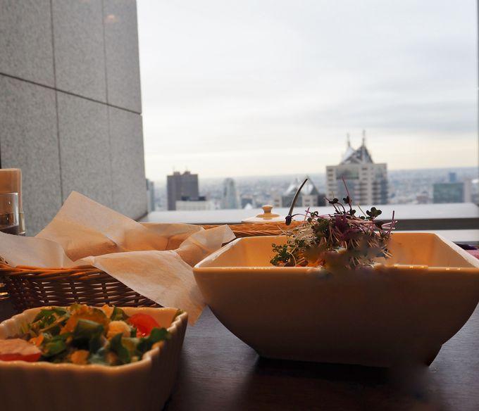 忘れてはいけない!美味しい食事と高層タワーならではの眺望
