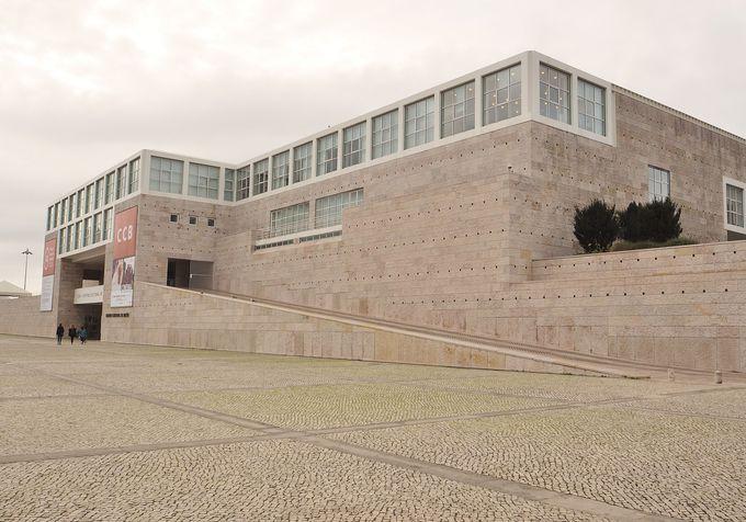 ここは新しい文化の発信地「ベレン文化センター(CCB)」
