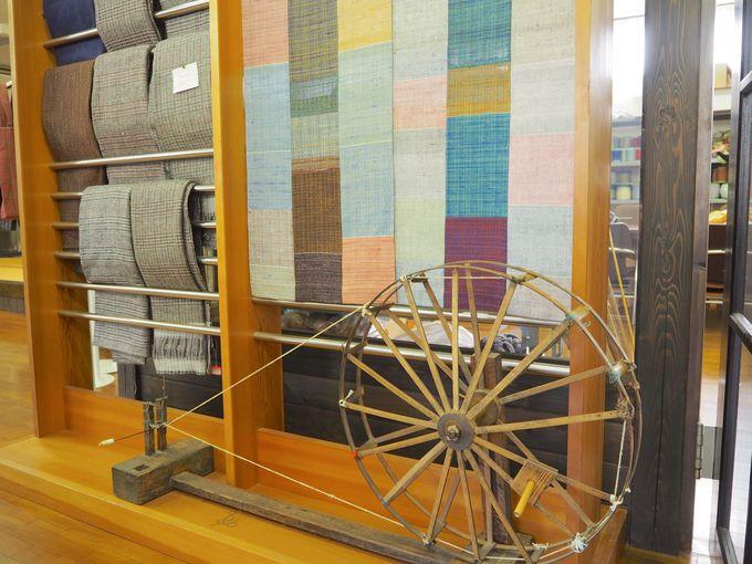 藤本つむぎ工房で紬を織る!