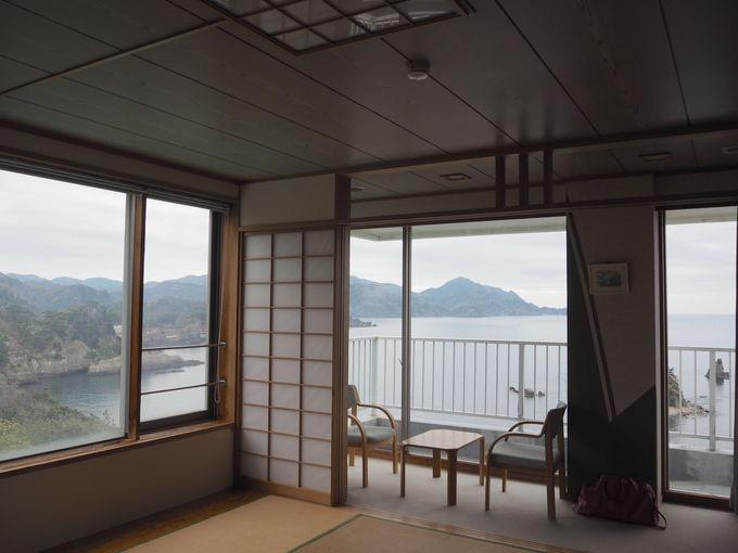 三四郎島も目の前!全室オーシャンビュー