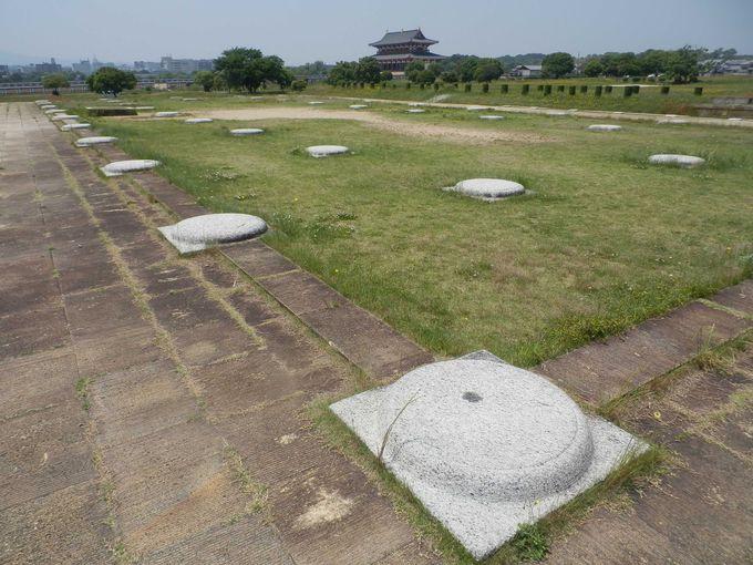 平城宮跡の原点・第二次大極殿