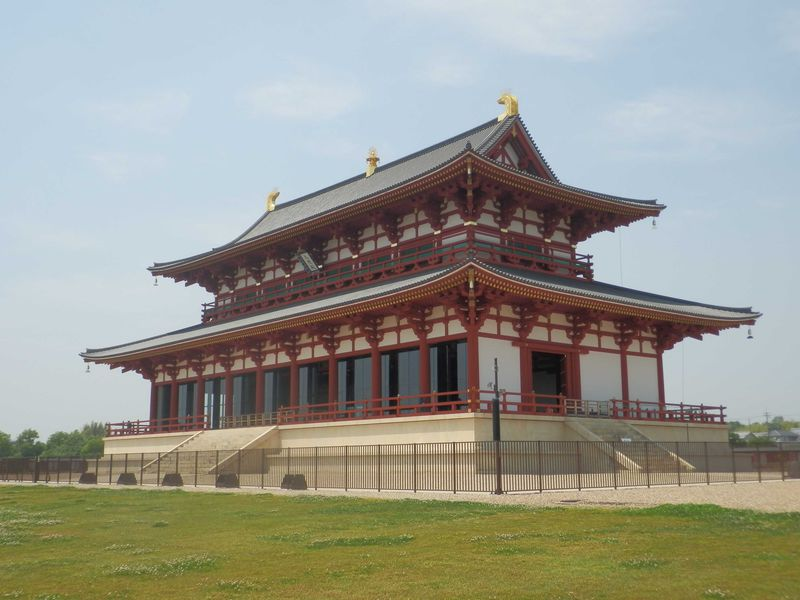 壮麗さに圧倒!天平時代が再現された世界遺産・平城宮跡