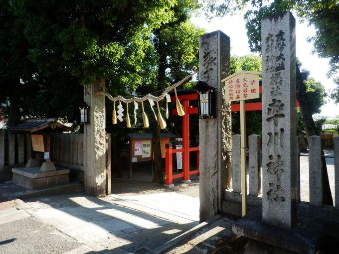子守明神の名を持つ率川神社と優美な三枝祭