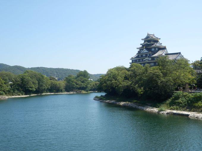 「岡山」の由来がこんなところに!天然の掘割として活用された旭川