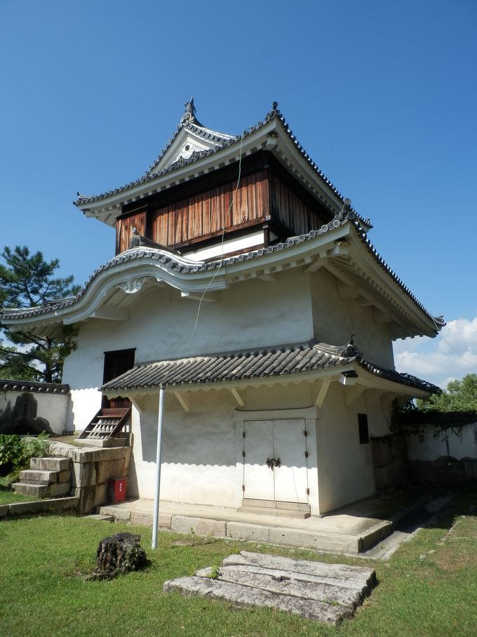 現存する江戸時代の遺構・月見櫓