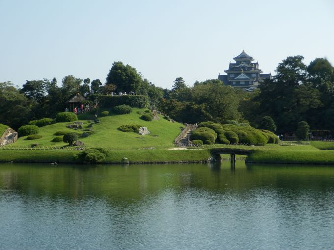岡山藩主・池田氏と深い関わりを持つ後楽園