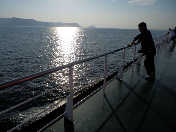 夕方の時間帯がお勧め!観光客を魅了する瀬戸内海の夕景