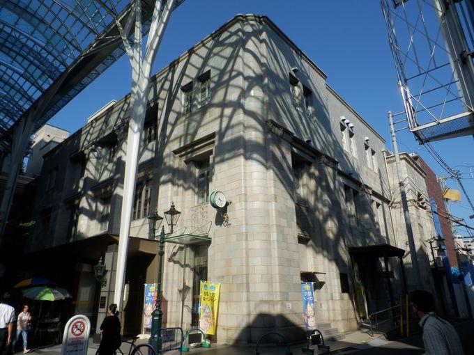 空襲の被害をまぬがれた近代建築・百十四銀行高松支店