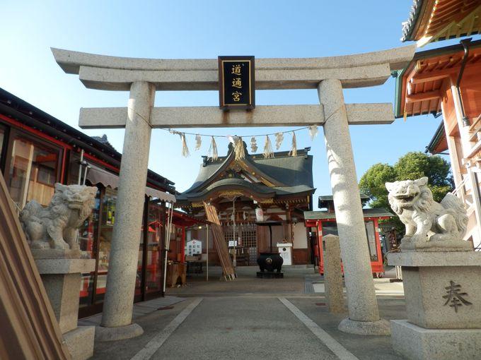 沖田神社とは別?!由来の異なる神さまをまつった道通宮