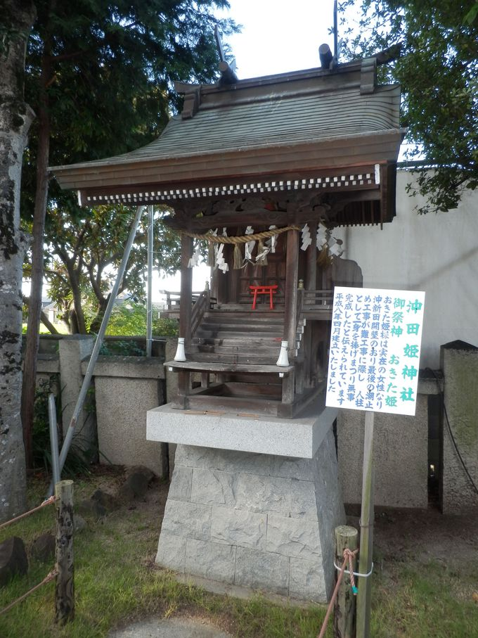 干拓事業の陰でこのような悲劇も!人柱伝説を残す沖田姫神社