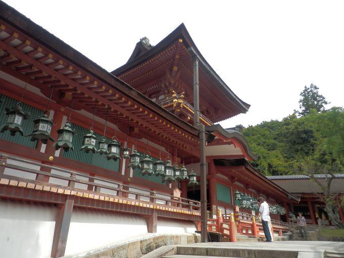 特別参拝ならではの魅力!国宝の本殿を間近に拝むことができる中門・御廊