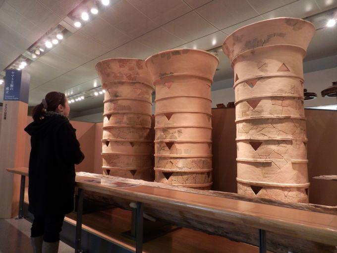 日本最大!メスリ山古墳出土の円筒埴輪群