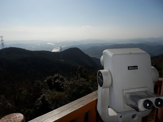 絶景かな!岡山平野を見渡す展望台からの眺めは必見!