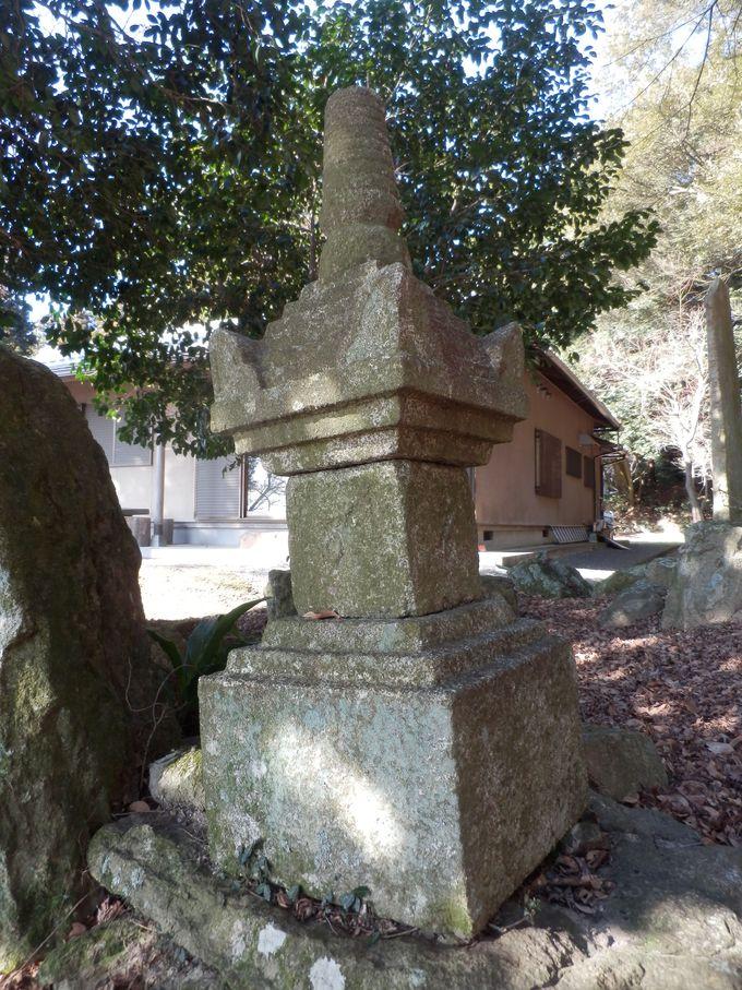 熊山遺跡を擁した古代寺院の名残り!岡山県下最古の宝篋印塔