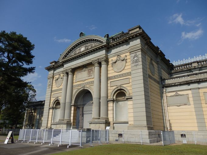 敷地まるごと必見の観光スポット「奈良国立博物館」