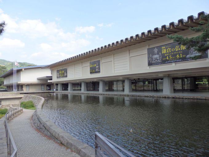 こちらは昭和の名建築!吉村順三の設計による西新館・東新館