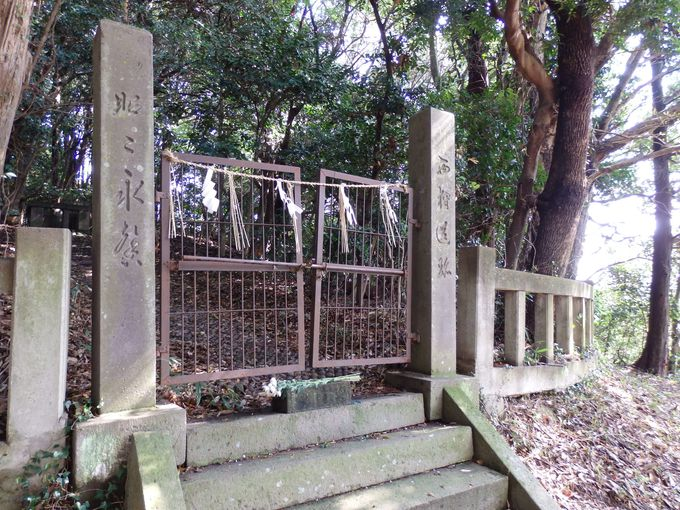 斉明天皇の陵墓!?恵蘇八幡宮の境内に残る御陵山