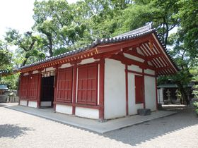 大阪府堺市唯一の国宝・桜井神社拝殿!その特異性と謎を追う