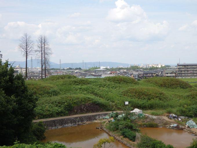 被葬者は何を思う?新沢千塚古墳群からの眺め