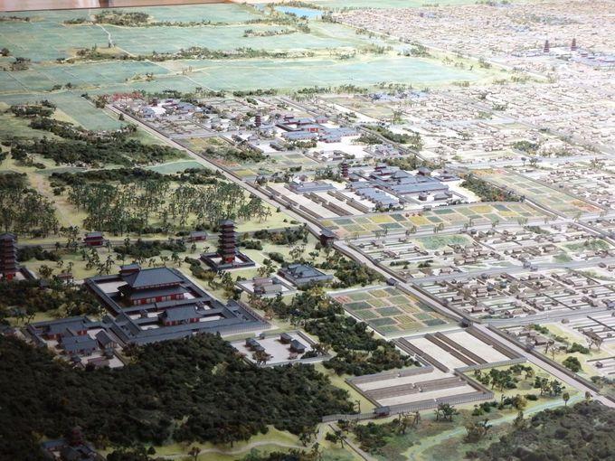 謎の「外京」と数々の古代寺院