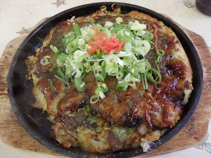 まだある岡山B級グルメ!牡蠣の入ったお好み焼き「カキオコ」