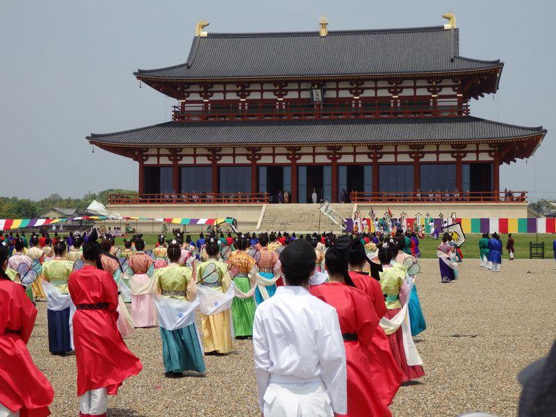 華麗な天平絵巻!奈良・平城宮跡で催される平城京天平祭・春