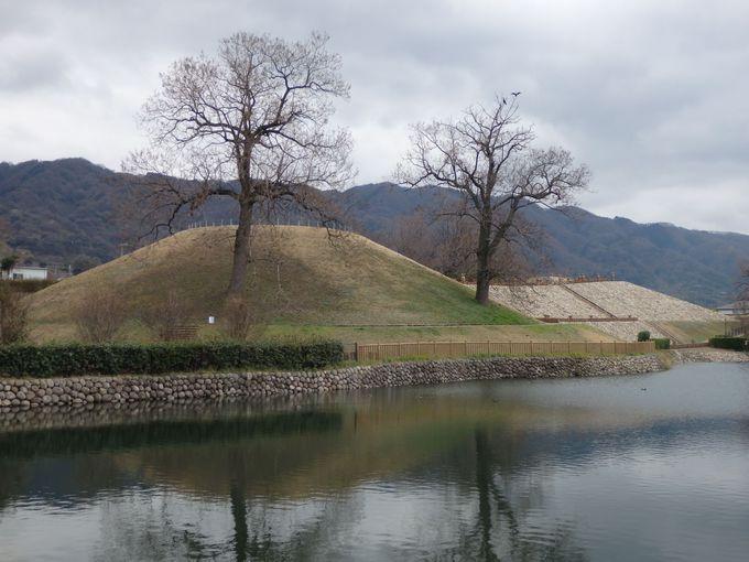 中河内地域最大!国の史跡にも指定されている心合寺山古墳