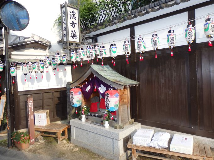 各地区をめぐろう!7月23日にとりおこなわれる奈良町界隈の地蔵盆