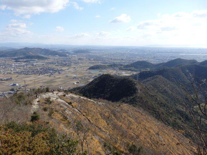 淡路島や明石海峡大橋も!関西方面の眺め