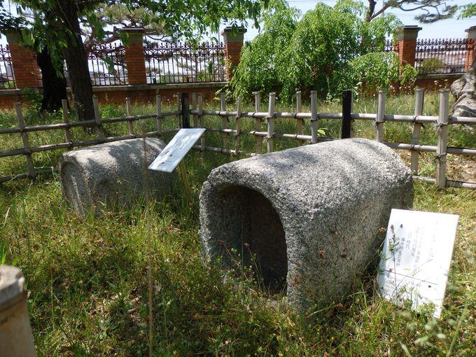 こちらも珍しい!キリシタン墓碑