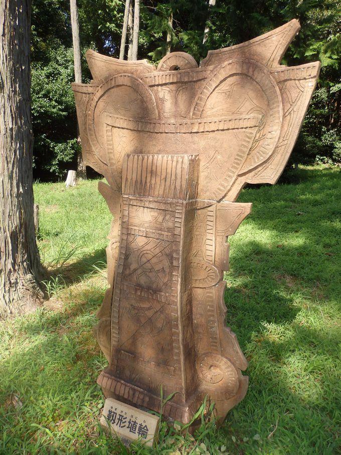 被葬者は始祖王・葛城襲津彦?復元された靭型埴輪