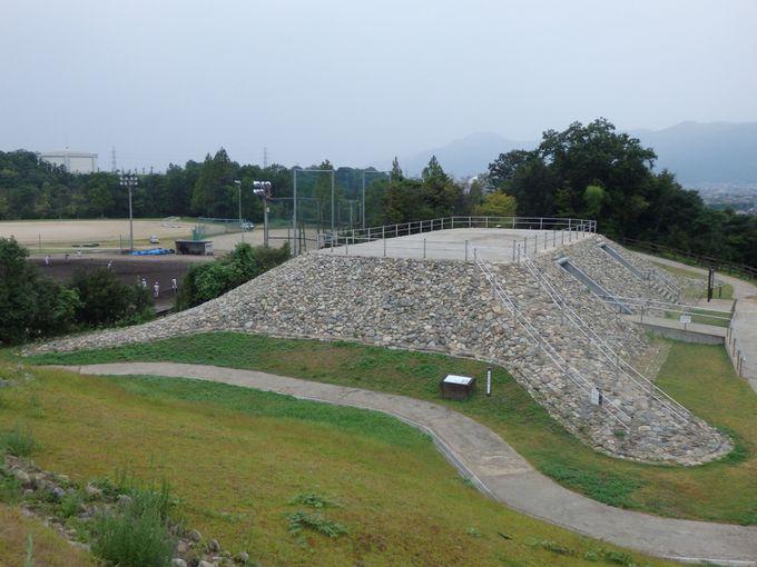 四隅突出型墳丘墓の実物を見学しよう!隣接する西谷墳墓群