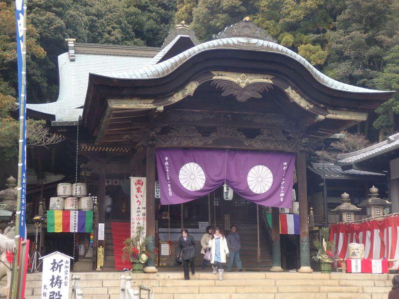 金毘羅宮と「両参り」!芸能人も訪れる岡山県の由加神社本宮