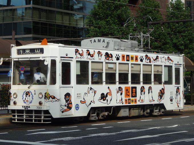 岡山に和歌山電鉄の「たま駅長」!?大人気の「たま電車」