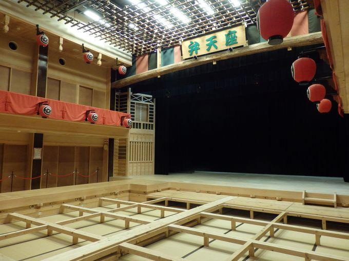 かつての芝居小屋を堪能!多目的ホールとしての役割をになう弁天座
