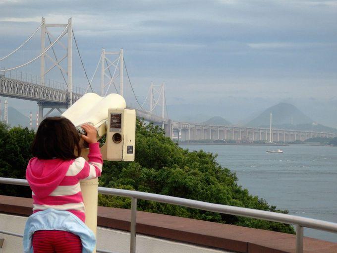 瀬戸大橋を一望!風光明媚な与島パーキングエリア