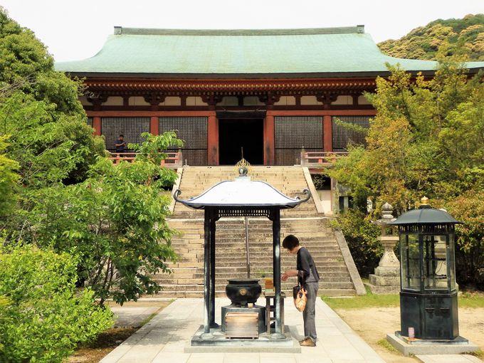 圧倒的な存在感!国宝・太山寺本堂